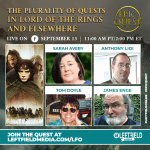 The Plurality of Quests in Lord of the Rings and Elsewhere