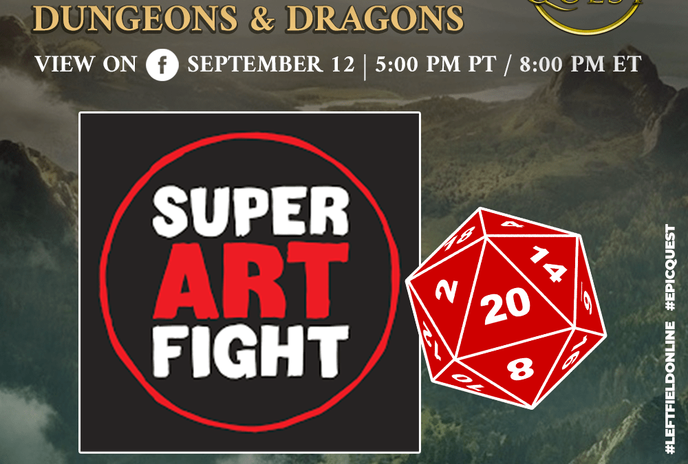 Super Art Fantasy: Super Art Fight Plays D&D